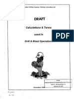 Teaching and Training Material Drill & Blast
