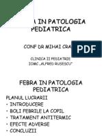 FEBRA IN PATOLOGIA PEDIATRICA.ppt