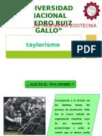 TAYLORISMO .pptx