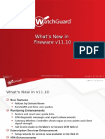 Whats New Fireware v11 10