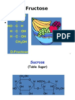 biochem lecture for 2nd year M B B S.Fructose & Galactose metabolism