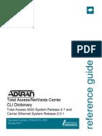 CLI Dictionary ADTRAN TA5000.pdf