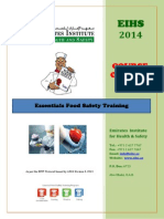 The Essentials Food Safety Training - EFST