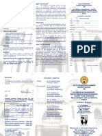 AICTE Brochure of SS on AE at PSG college , COIMBATORE