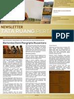 Newsletter Tata Ruang dan Pertanahan Edisi April 2015