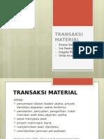 Presentasi Aspek Hukum dalam Transaksi Material