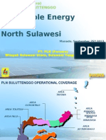 Renewable Energy in North Sulawesi