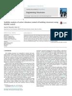 Upravljanje aktivnim vibracijama pomocu PID i PD