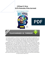 [!Pixar!] Vice Versa.2015.Francais.film.Torrent