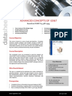 Advanced Concepts of GDT Data Sheet