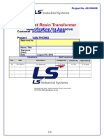 Transformer Specification