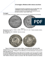 Due Monete Inedite Di Correggio e Modena Dello Stesso Zecchiere