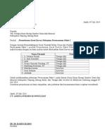 Permohonan Survey ESDM