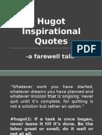 Hugot Inspirational Quotes