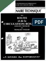 Dictionnaire Technique Des Routes(Français a Anglais)