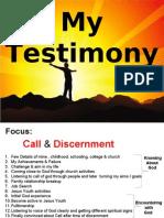 Vignan Das Gangula's Testimony (Catholic & Spiritual)
