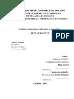 Academia de Studii Economice Din Moldovaa