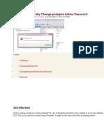 Change Postgres Admin.docx