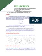 6 Fluid Mechanics