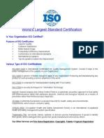 ISO Benefites 9001