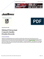 Jazz Reviews- Concerts IneditsMichael Petrucciani - By Stuart Nicholson — Jazz Articles Copy
