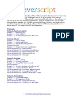 CleverScript Manual