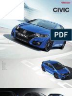 Honda Civic 2015 catalogue