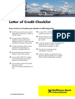 LC Checklist