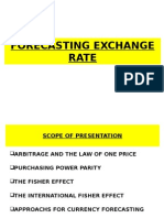 Exchg Rate Forecasting