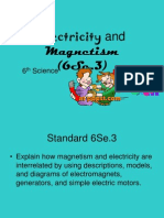 magnetism and electricity ppt to print