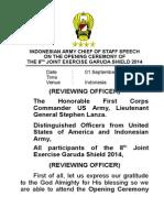 01 Sept 14 Sambutan Pembukaan Latma GS 2014 (Eng)