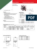 FF444 Industrial Pressure Control