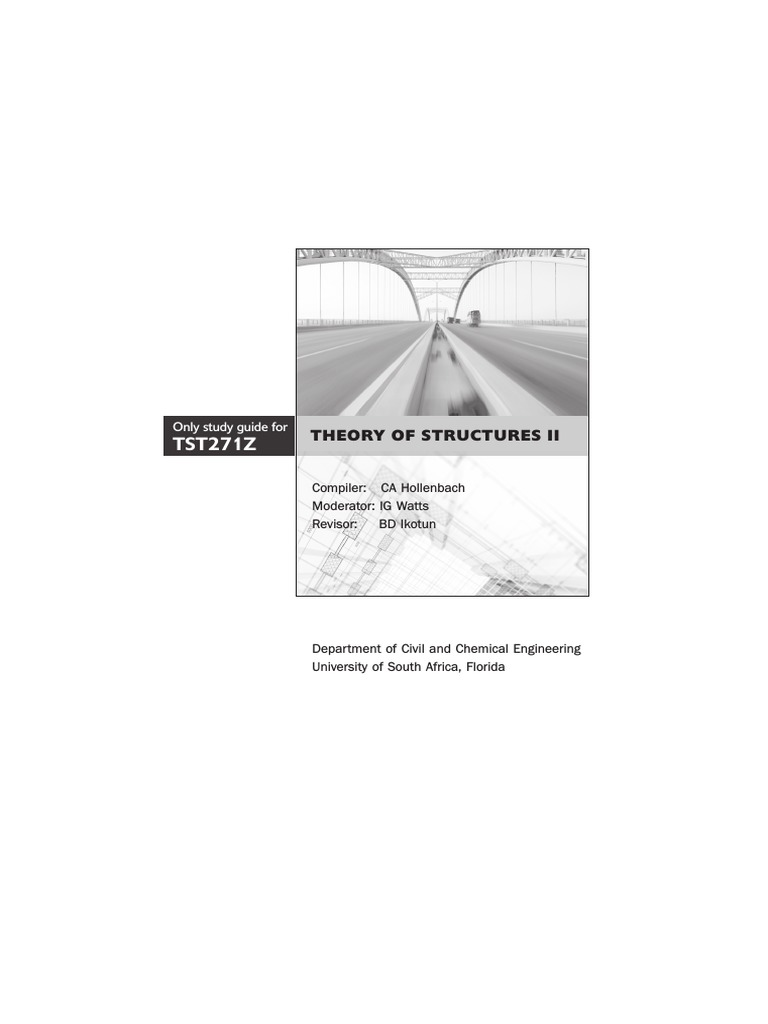 Study Guide 001 Both For Tst271z Ultimate Tensile Strength Bending Draw Deflected Shape Shear Force And Moment Diagram All