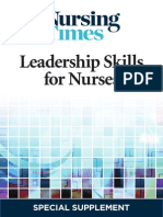 Leadership Skills for Nurses