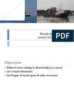 Nautical Vessel Terms