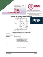 Informe de Circuitos Electricos