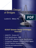 Seismic design of bridge, lrfd