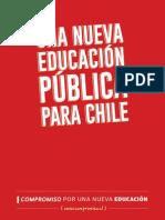 Doc Una Nueva Educacion Para Chile
