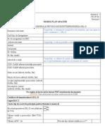 Anexa 1 Model Plan de Afaceri 2015