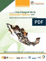 Reforma Integral de La Educación Básica 2009.