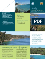 Manly Scenic Walkway Brochure