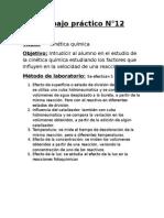 Tp12-Cinética química
