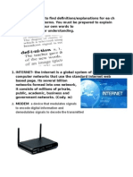 internet related terms student copy  doc