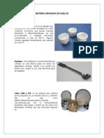 Determinacion de Materia Organica de Suelos