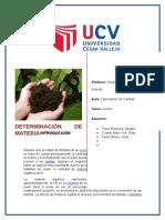 Determinacion de Materia Organica Terminado (Abi)