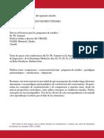 Jonnaert Competencias y Socioconstructivismo