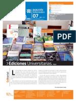 CONTACTO-UNA. Boletín Informativo 7. Abril 2015Boletin 7 Final