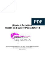 HUMS Health and Safety Pack 13-14 Approved Aw