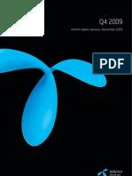 Interim Report January–December 2009