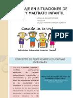 Abordaje en Situaciones de Abuso y Maltrato Infantil
